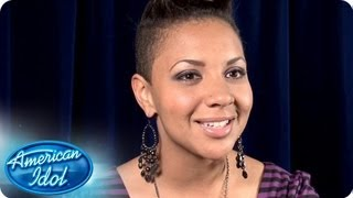 Cristabel Clack: Road To Hollywood Interviews - AMERICAN IDOL SEASON 12