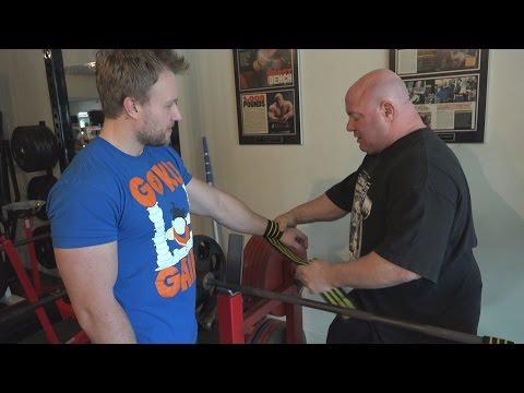 Wrist Wraps To Increase Bench Press Gains - Scot Mendelson & Furious Pete