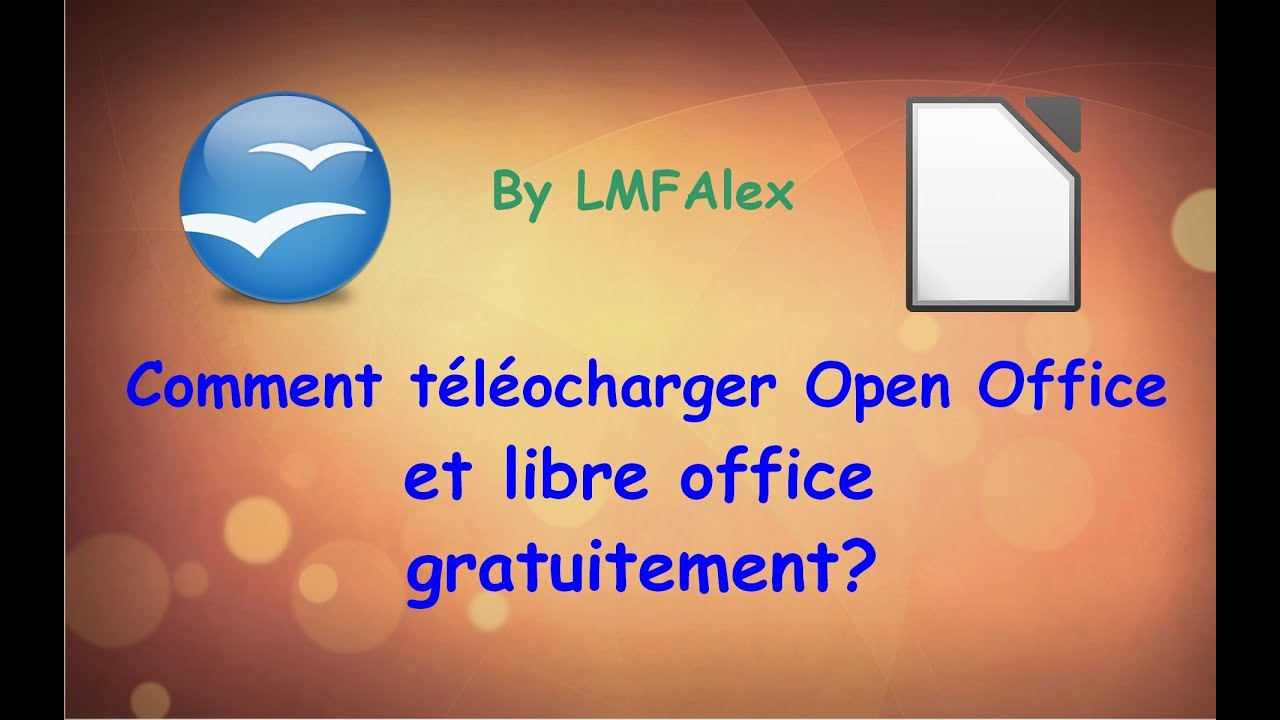 Comment t l charger open office et libre office youtube - Telecharger open office clubic ...