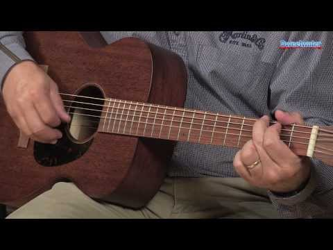 Martin 00-15M Acoustic Guitar Demo - Sweetwater Sound