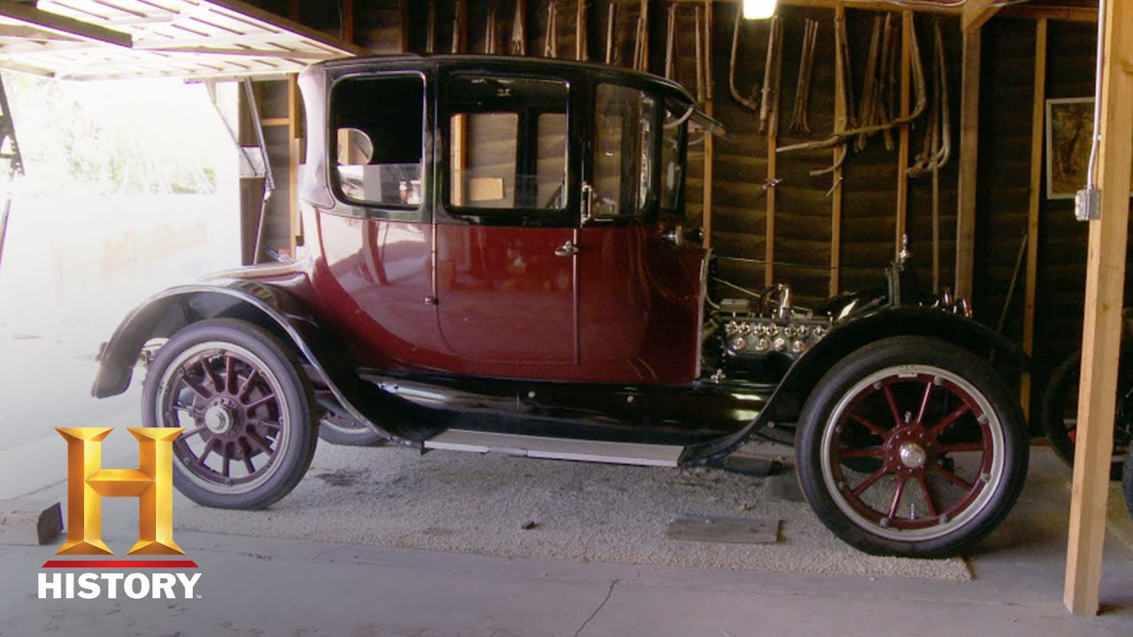 Counting Cars: Bonus: 100-Year-Old Caddy | History - YouTube