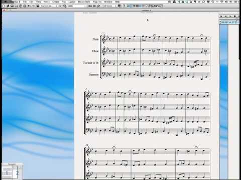 Tutorial 3 - Sibelius