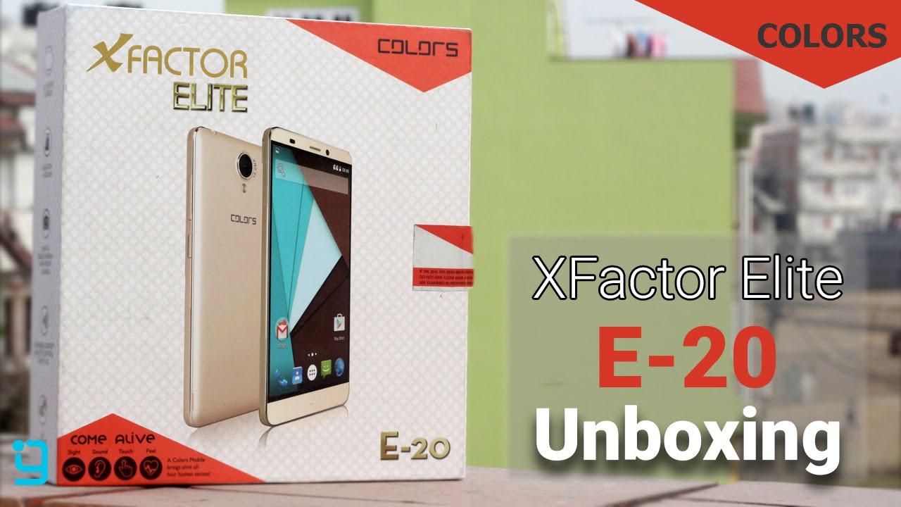 Colors Elite E20 Unboxing & Impressions - YouTube