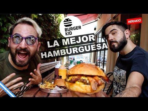LA MEJOR HAMBURGUESA | FT. Burgburger Kid