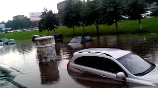 видео Ижевск тонет после сильнейших дождей