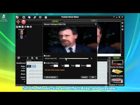 How to add Video Mosaic Effect