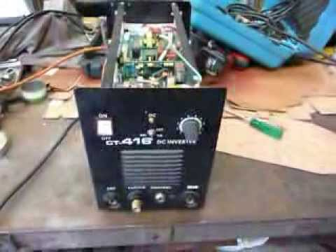 plasma cutter fault repair or help - YouTube