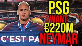 PSG To Break Transfer Record With €222M...