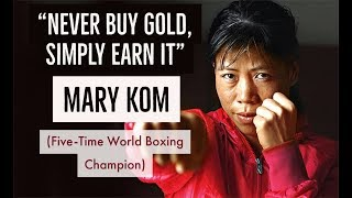 Most Inspiring Speech By Mary Kom | Five-Time World Boxing Champion | Great Indian Minds