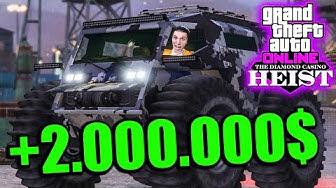 Vier YOUTUBER klauen den 2.000.000$ ZHUBA! | GTA 5 Online Casino Heists