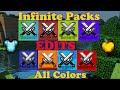 Huahwi InFinite Pack  Folder! 8 Different Colored Packs Edits! 1.7+1.8