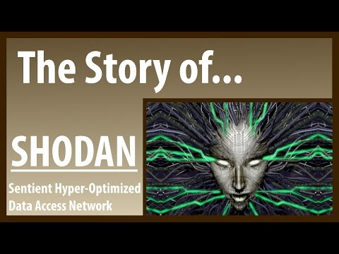 The Story of... SHODAN - B0   Ep1 (System Shock Lore)