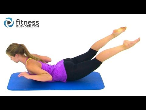 Bikini Body Pilates – 27 Minute Abs, Butt and Thighs Pilates Workout by FitnessBlender.com