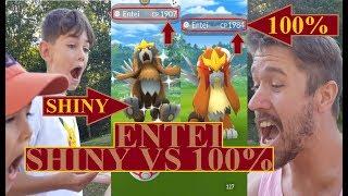 Pokémon GO   ÄR SHINY ENTEI BÄTTRE EN 100% ENTEI?   Johans Pokémon GO