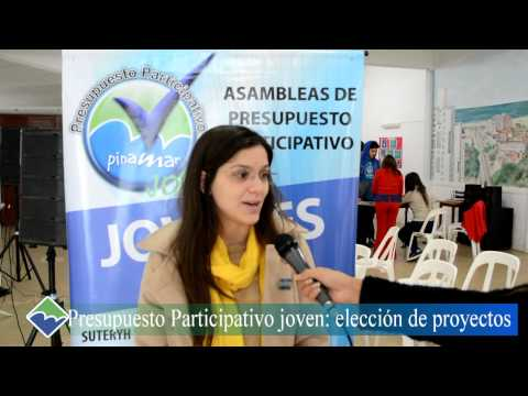 Presupuesto Participativo Joven 2014: elección de proyectos.