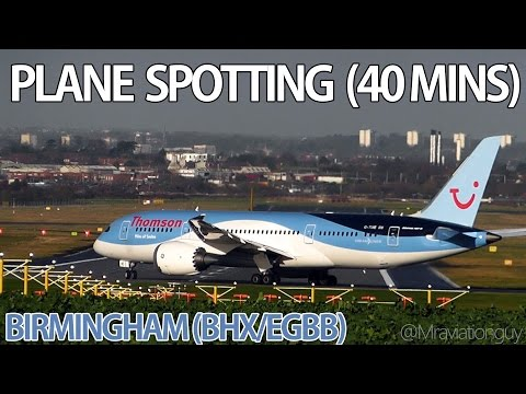 Birmingham International Airport (BHX/EGBB) | 40+ Minutes of Plane Spotting | Busy Winter Day!