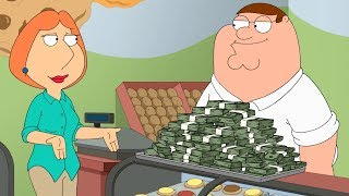 Peter has a lot of Money
