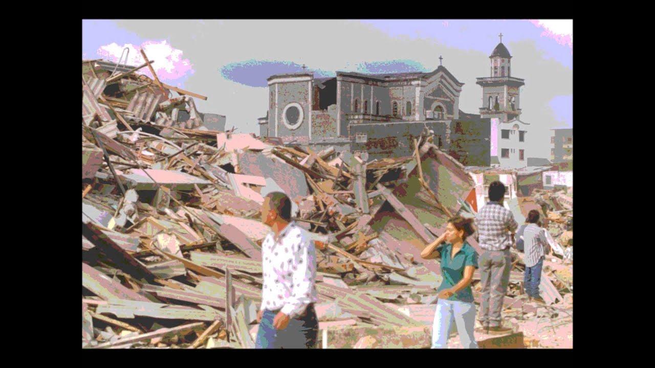 Terremoto De Armenia Youtube