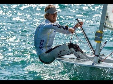 2013 ISAF Sailing World Cup Miami - Jesper Stalheim (SWE) Wins Laser gold