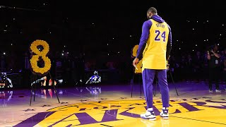 LeBron James - Kobe Bryant Tribute