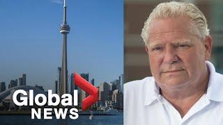 Coronavirus: Toronto, Peel Region given green light to move into Stage 3 reopening | FULL