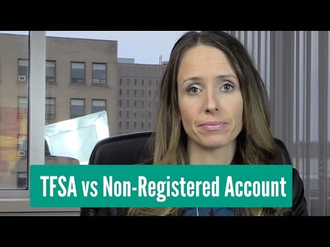 TFSA vs Non-Registered Account