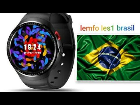Lemfo les1 Brasil smart watch