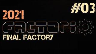 Factorio 2021 ep.03 - Красная и зелёная наука, фабрика всего (MALL)