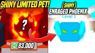 I SPENT 83,000 ROBUX GETTING THIS LIMITED SHINY PET IN BUBBLE GUM SIMULATOR UPDATE!! (Roblox)