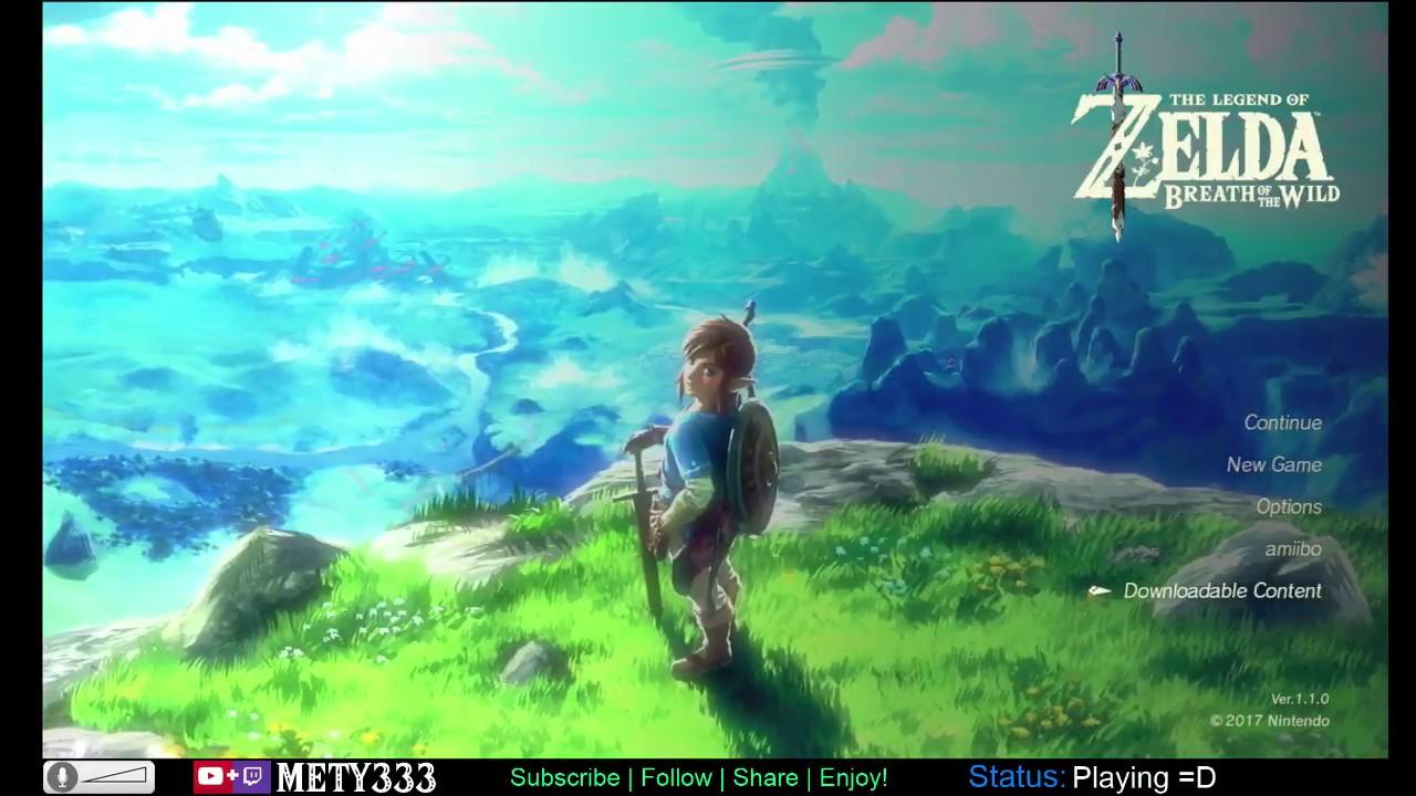 ENDLESS STREAM! Day 7: Freezing Mountains   Zelda: Breath of the Wild