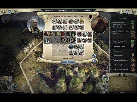 Age of Wonders III High Elf Theocrat VS Hight Elf Necromancer |