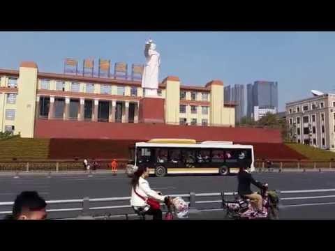 Tianfu Square, Chengdu, Sichuan, China