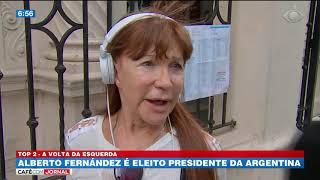 Alberto Fernández é eleito presidente da Argentina