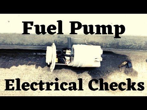 2010 Hyundai Santa Fe Fuel Pump Testing And Replacement