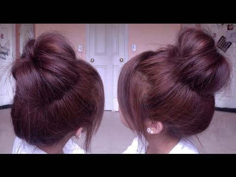 Korean Inspired High Bun