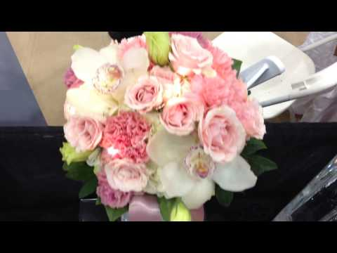 Van Belle Flowers 2014 Wedding Show