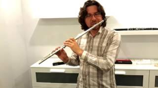 Николай Попов в Московском Флейтовом Центре