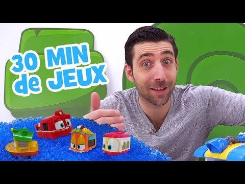 Compilation 30 min de vide虂os pour enfants. Romain et les jouets
