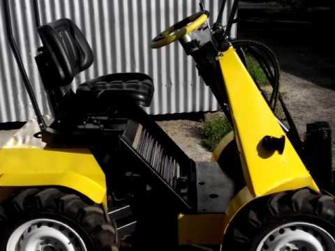 Разновидности навесного оборудования на мини-трактор