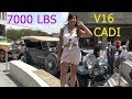 RARE - What is Underneath this hood - V16 7000lbs Cadillac 4k MUST WATCH