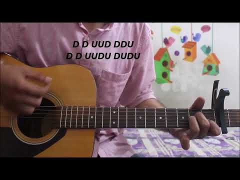 Baarish Lete Aana - Darshan Raval - Guitar cover lesson chords easy intro