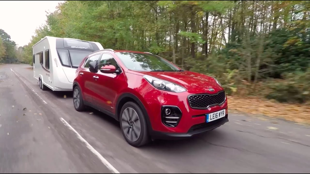 The Practical Caravan Kia Sportage Review Youtube