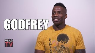 "Godfrey Laughs at Antonio Brown Allegedly Calling Raiders GM a ""Cracker""  (Part 2)"