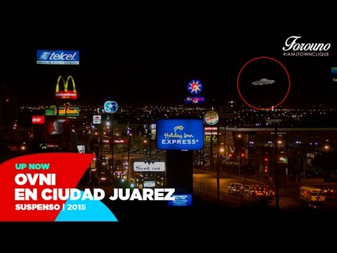 Caida de Ovni en Ciudad Juárez - El Paso Tx