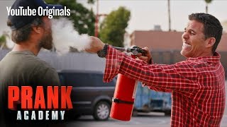 MONSTER TRUCK PRANK!!! ft. STEVE-O | Prank Academy | Episode 18
