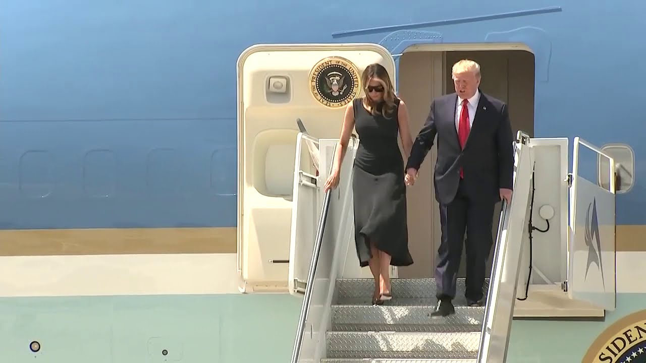 Trump, First Lady Arrive In El Paso, TX To Meet With Victims, First Responders  8-07-2019