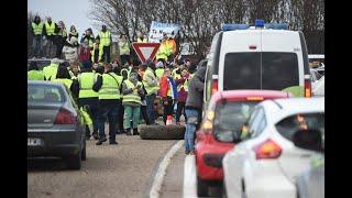 """Les actualités de 18h : plusieurs incidents dans les blocages des """"gilets jaunes"""""""