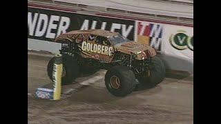 Freestyle Goldberg pt  2 Monster Jam World Finals 2001