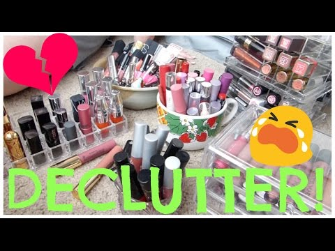 Lipstick Declutter 2016 | Second Time In One Year!?