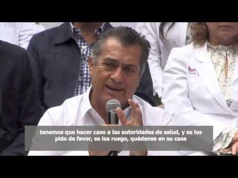 Plan de acción del Gobierno de Nuevo León para prevención y contención del virus COVID-19